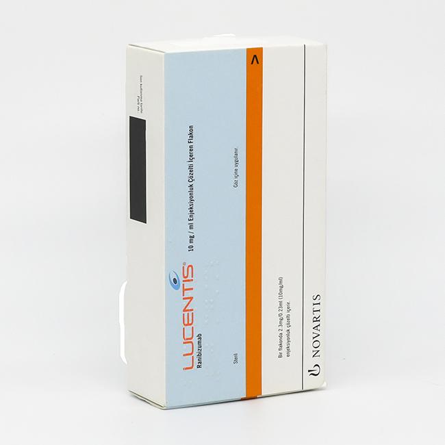 Луцентис раствор для инъекций внутриглазных 10мг/мл 0,23мл №1