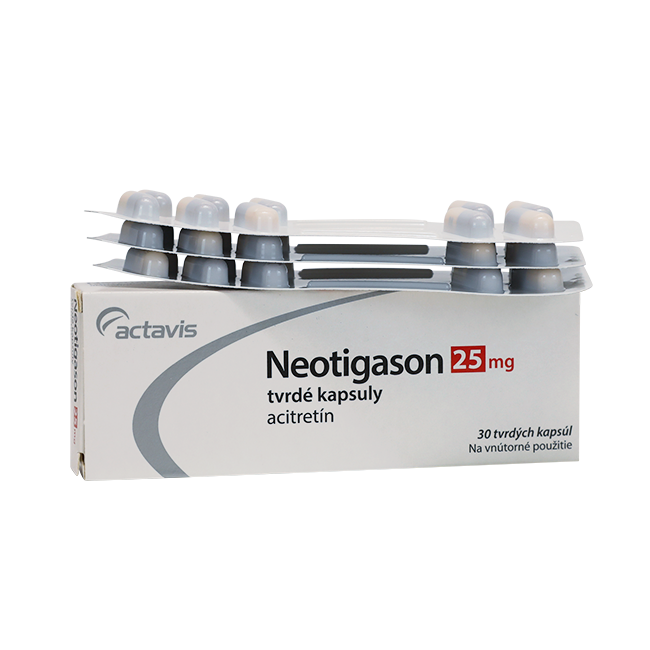 Неотигазон (Neotigason) капс. 25мг №30