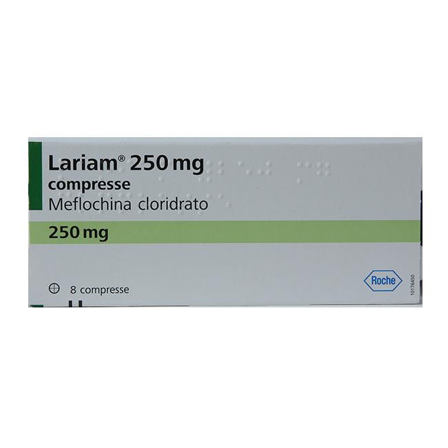 Лариам (Мефлохин, Mefloquinum) таб 250мг №8
