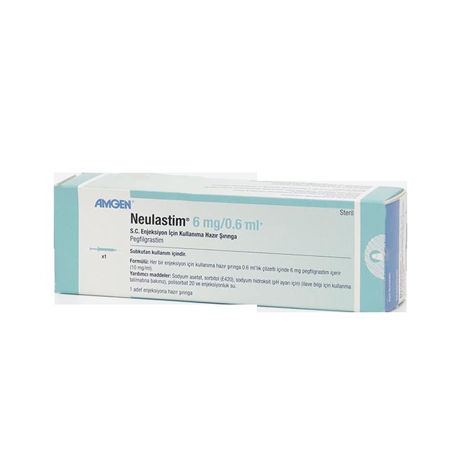 Неуластим р-р для инъекций 10 мг/мл 0,6 мл №1