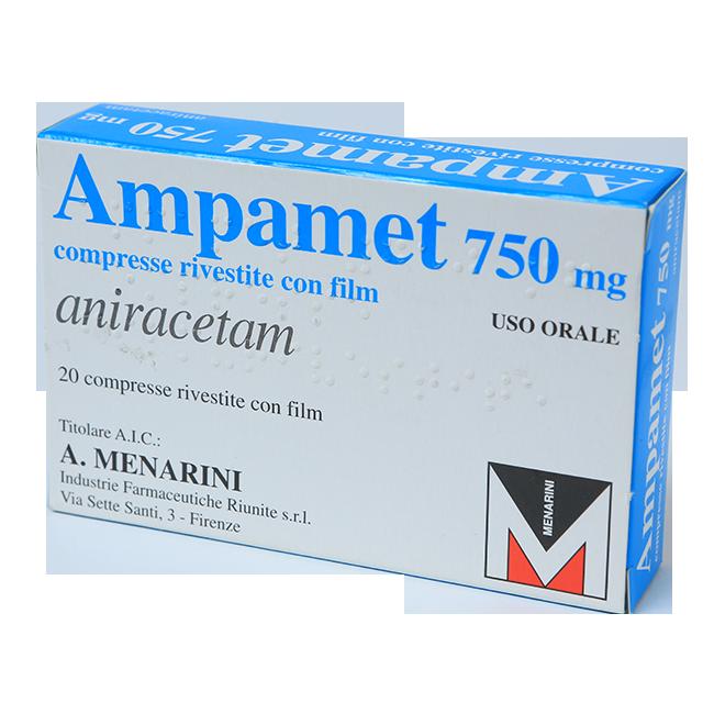Ампамет (Анирацетам) табл. 750мг №20