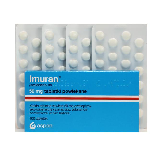 Имуран таб. 50 мг N100