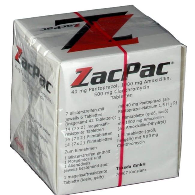 ЗакПак (Zacpac, Зак Пак) набор капсул на 7 дней