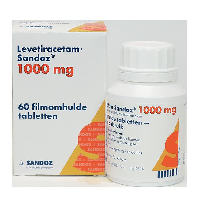Леветирацетам таблетки 1000мг №60