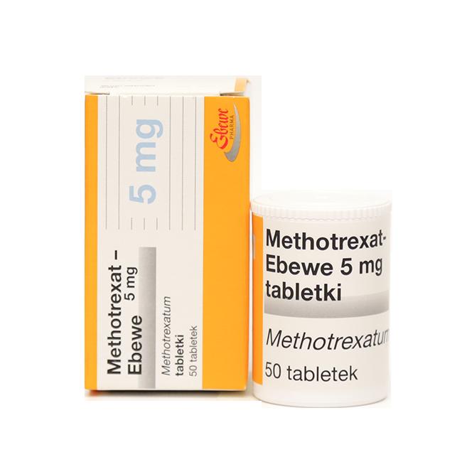 Метотрексат Эбеве таб. 5 мг №50