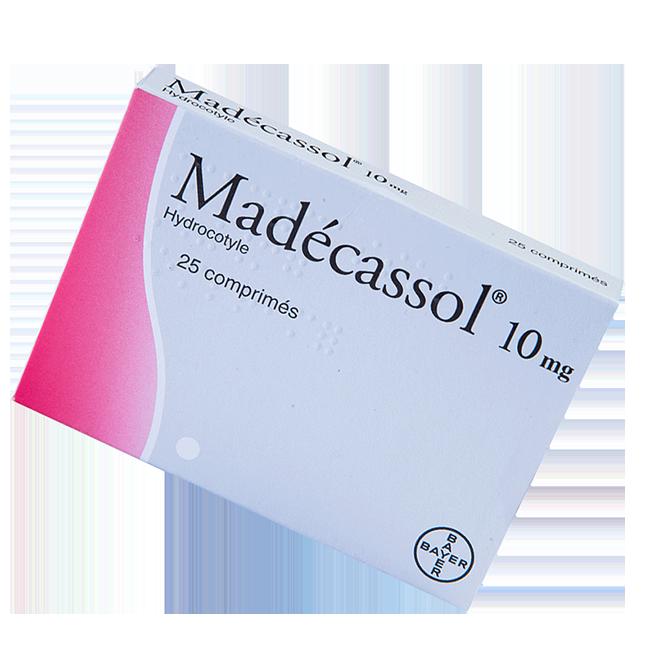 Мадекассол (Madecassol) таблетки 10мг №25
