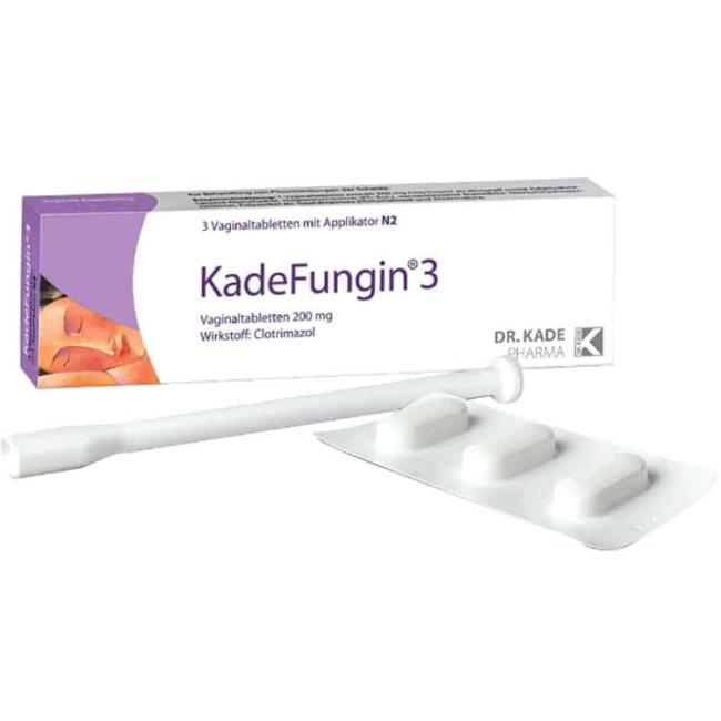 Кадефунгин (полный аналог Кандибене свечи) вагин. табл. 200мг №3