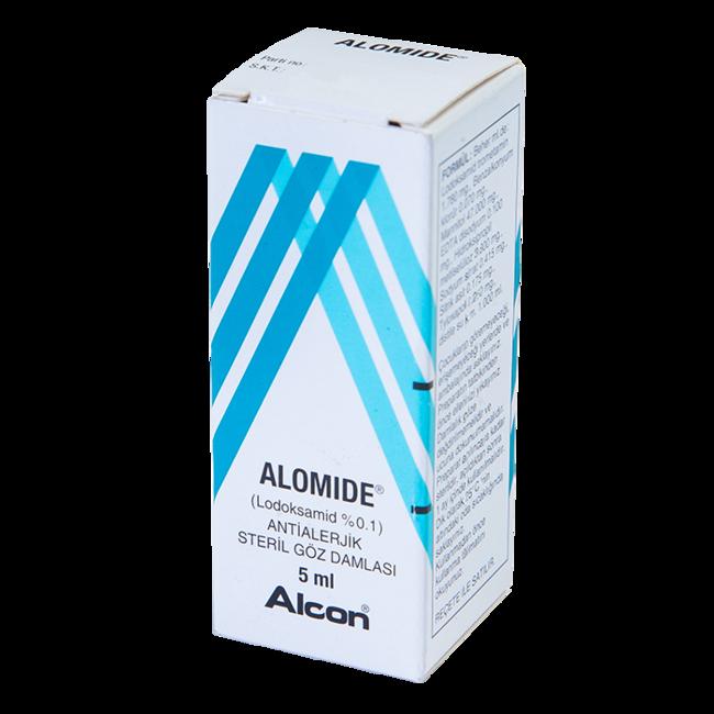 Аломид 0,1% (1мг/1мл) капли 5мл