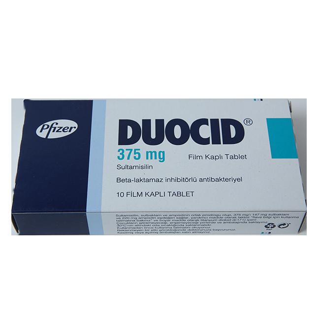 Дуоцид (Амписид) табл. 375 мг №10