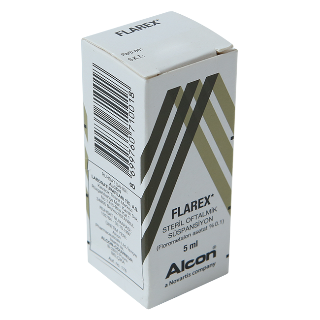 Фларекс (аналог Флюкон) гл. капли 0,1% 5мл