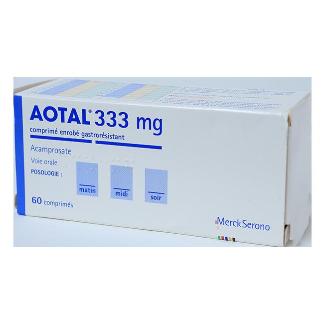 Аотал таблетки 333мг №60