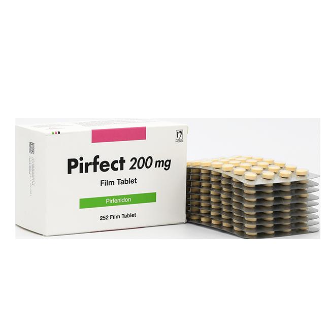 Пирфект (Пирфенидон) капсулы 200мг №252