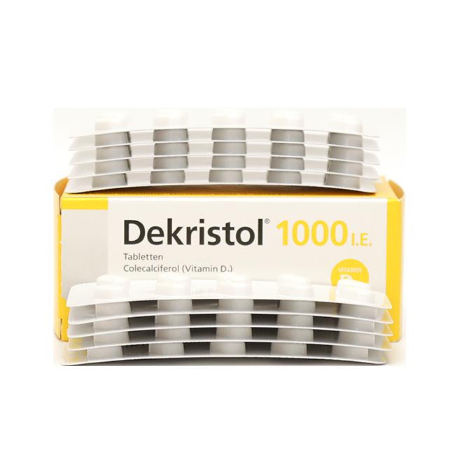 Декристол (Dekristol, витамин d3) 1000 D3 капс. №100