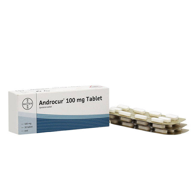 Андрокур табл. 100 мг №30