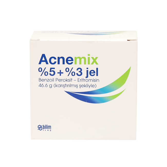 Акнемикс (Benzamycin) гель 46,6г