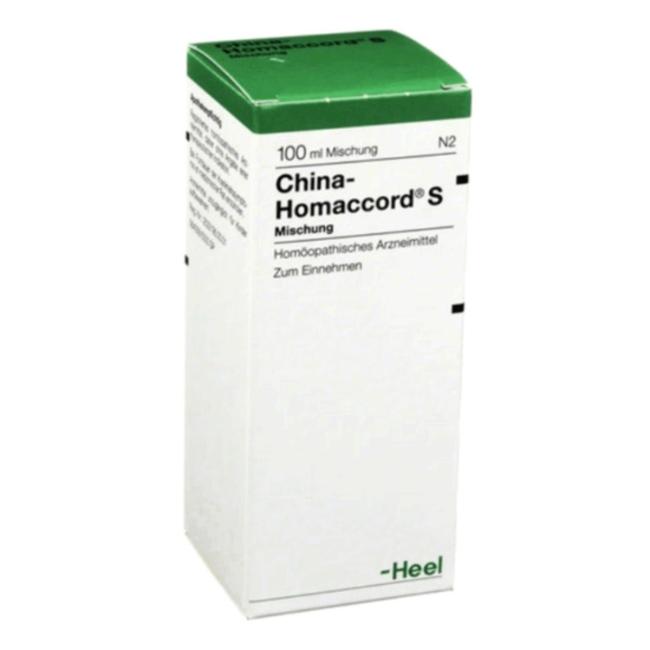 Хина гоммакорд (China Homaccord) гомеопатия капли Heel Германия 100мл