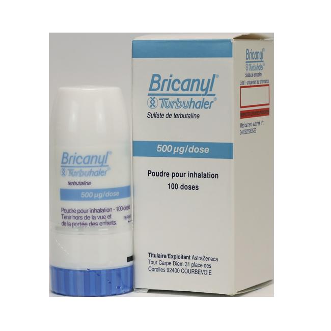 Бриканил (Тербуталин) турбухалер 0,5мг 100 доз