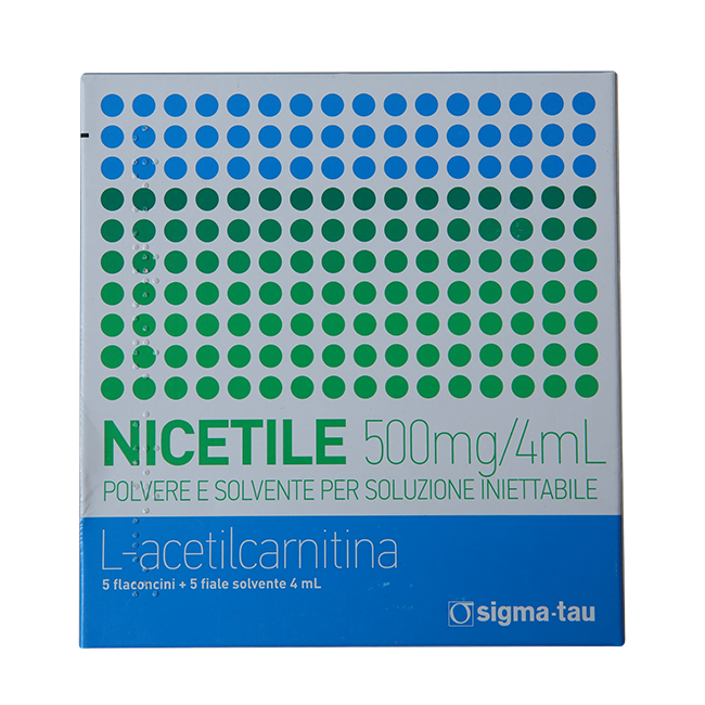 Ницетил амп. 0,5г + 4мл р-ль №5