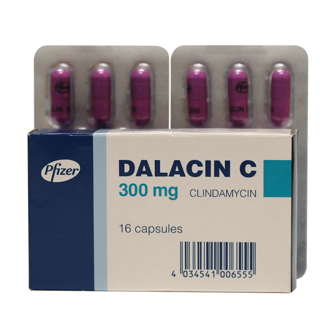 Далацин Ц 300мг капс. N16