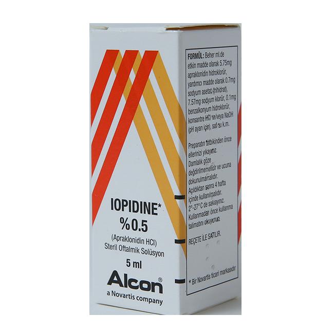 Иопидин (Апраклонидин) фл. 0,5% 5мл