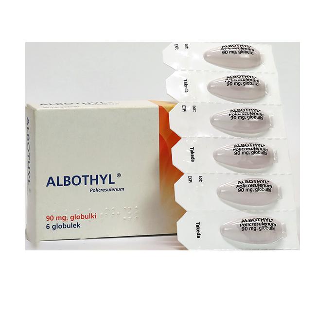 Алботил (аналог Vagothyl, Ваготил) Поликрезулен св. вагин. 90мг №6
