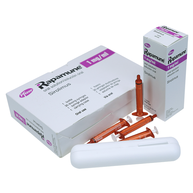 Рапамун (Сиролимус) раствор для приема внутрь 1мг/мл 60мл