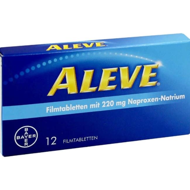 Алив (Aleve) таблетки №12