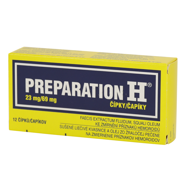 Препарейшн эйч (Preparation H) св. №12