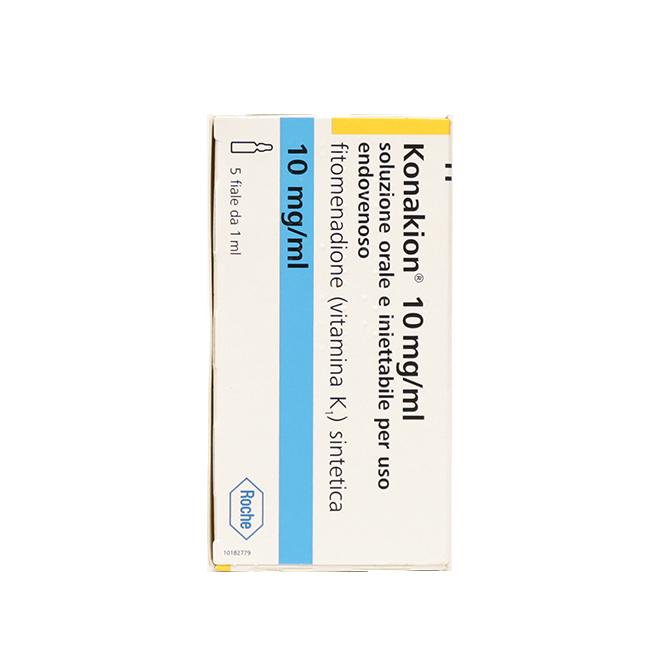 Конакион (фитоменадион, витамин К1) амп. 10мг №5
