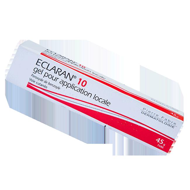 Экларан 10 (Бензак АС) гель 10% 45г