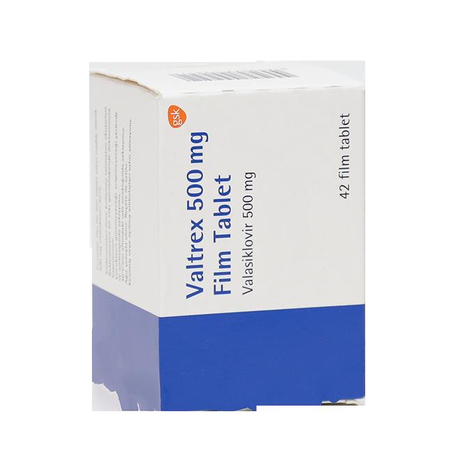 Валтрекс (Вальтрекс) таб. 500 мг N42